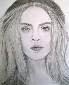 Clara/pencil drawing