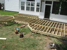 How to Build Ground Level Deck Plans for All Your Home and Garden Supplies: Building A Freestanding Deck