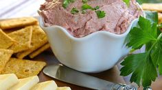 Flavorful braunschweiger liver sausage is the ideal base for this spreadable appetizer ball.
