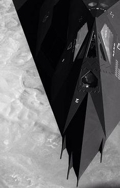 """rhubarbes: """"Lockheed Martin F-117A Nighthawk stealth fighter """""""