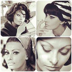 BE INSPIRED: A BLAST FROM THE PAST! Glamour Done Sophia Style! #SophiaLoren #makeup #eyeliner #MUAM