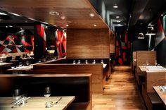 Restaurant & Bar Design Awards shortlist announced (UK) Restaurant Booth, Restaurant Seating, Rustic Restaurant, Restaurant Design, Cafe Seating, Booth Seating, Lounge Seating, Bar Design Awards, Cafe Design