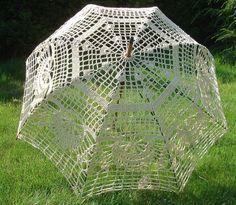 Crochet umbrella by LilkasHandmade on Etsy, €80.00
