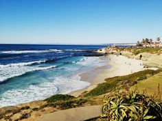 La Jolla Beach!