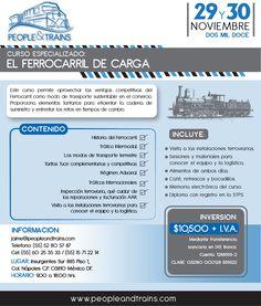 Curso: El ferrocarril de carga | 29 de Noviembre | México DF