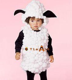 Resultado de imagem para como fazer uma fantasia de ovelhinha