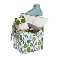Love this small 'Owls Sky' storage bin for keeping things organized in an outdoor themed boys bedroom. Kids Bedroom Dream, Boys Bedroom Themes, Dream Kids, Bedroom Ideas, Small Storage, Storage Boxes, Sky Fit, Owl Crafts, Crib Sets