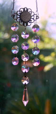 Rainbow Makers and Wind Chimes Crystal Prisms Sun by MindGlowing