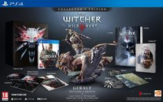 The Witcher 3 Wild Hunt édition collector - #PS4 #TheWitcher