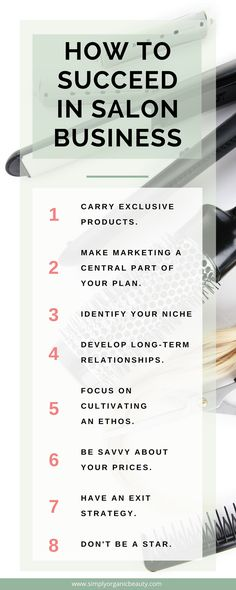 8 New Rules to Make Millions in a Salon Business | Simply Organic Beauty