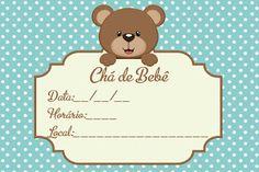 Convite para Chá de Bebê Grátis  editáveis 2