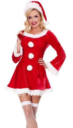 1333bbc942a See more. XM072 Free Shipping! 2013 High Quality Sexy Adult Christmas Dress  Cosplay Christmas Costumes With Gift