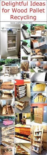 Delightful Ideas for Wood Pallet Recycling