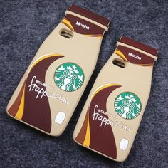 3D Starbucks Bottle Silicon Phone Case Back Cover for iPhone 5s/SE/5 soft Skin #UnbrandedGeneric