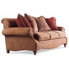 Drexel Heritage Upholstery Kerry Sofa w/ Rolled Back by Drexel Heritage® - Baer's Furniture - Sofa Miami, Ft. Lauderdale, Orlando, Sarasota, Naples, Ft. Myers, Florida