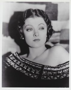 old hollywood stars pictures | Myrna Loy | Classic Hollywood Stars