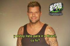 Ricky Martin será uno de los jueces del concurso internacional organizado para escoger una de las canciones que se incluirán en el álbum oficial del Mundial Brasil 2014 y que será interpretada por el artista puertorriqueño.