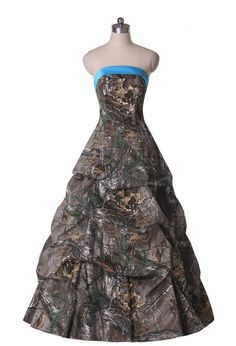 Camo Ball Gown Wedding Dresses | 2016 Ball Gown Ruffled Long Quinceanera Camouflage Wedding Dress ...