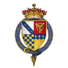 Quartered arms of Sir Thomas Stanley, 1st Earl of Derby, KG - Thomas Stanley, 1st Earl of Derby - Wikipedia, the free encyclopedia