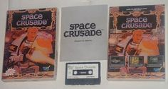 Sinclair ZX Spectrum: Space Crusade (Spanish)  I lked Hero Quest so much that I spent a lot of money (by that time) in purchasing the Sinclair Spectrum version of Space Crusade.  God I loved the game! I played every single mission one time and another. I became such a fan that now I also own the board game with all the expansions.  Lucky me for this is a very rare game to find even more in this Spanish edition!  #retrogaming #retrogames #sinclair #spectrum #zxspectrum #zx #heroquest…