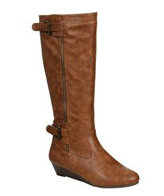 Take a look at this Chestnut Tamara Boot by Bamboo on #zulily today!
