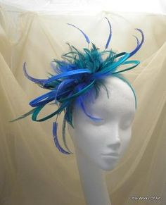 head peice for peacock costume