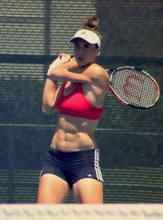 Andrea Petkovic...awesome abs lady :)