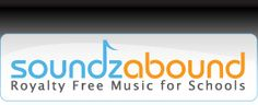Soundzabound Music Library offers a wide variety of music, audio themes and sound effects  for grades K -12 and universities that ensures your copyright safety.  Perfect for podcasts, PowerPoint™, videos, news shows, video yearbooks, digital storytelling,  presentations, TV broadcasts, web design and more!