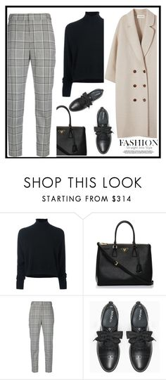 """""""Untitled #726"""" by jovana-p-com ❤ liked on Polyvore featuring Le Kasha, Prada, Alexander Wang and Max&Co."""