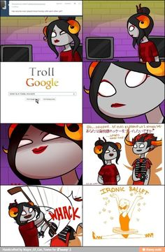 Oh, Damara. You make me happy to know that there are very funny assholes in this world.