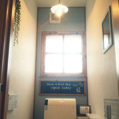 ポチしたもの届きました(^w^) 後藤照明~♪ 無機質な感じ大好きです( 〃▽〃) 無意味にトイレを何回も覗いてしまう私です(^w^)フェイクグリーン/セリア/後藤照明/黒板/古民家風目指したいけど.../DIY…などのインテリア実例 - 2014-07-25 15:42:48 | RoomClip(ルームクリップ)
