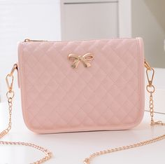 Material: PU Color: pink, white, black Size: Length: 22 cm, the bottom high: 8.5 cm, height: 18 cm, Tips:  *Please double check above size and consider your measurements before ordering, thank you ^_^  visiting store: http://womenfashion.storenvy.com, find more cute fashion items!