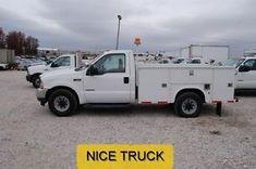Ford : XL 04 f 350 service utility truck pickup 1 owner fleet used turbo diesel 6 l v 8 rwd Diesel Trucks, Diesel Cars, Diesel Vehicles, Utility Truck, Pick Up, Ford
