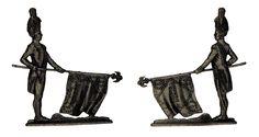 """Granadero a pie - abanderado (plano de estaño del estuche """"Figuras del Primer Imperio - 1804 - 1810"""" - Manufacture Historique de Soldats de Plomb - espesor 3,5 mm)"""