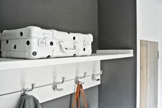 DIY stippen koffer. Blog: Lekker Fris
