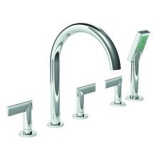 Buy the Newport Brass Polished Chrome Direct. Shop for the Newport Brass Polished Chrome Priya Roman Tub Filler Faucet with Metal Lever Handles and Handshower and save. Newport Brass, Roman Tub Faucets, Bathroom Fixtures, Antique Copper, Polished Nickel, Solid Brass, Metal, Plumbing, Master Bath