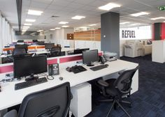 Task | Case Studies | Les Mills Les Mills, Fitness Brand, Office Environment, Corporate Design, Office Interiors, Case Study, Corner Desk, Architecture, Offices