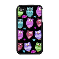 my latest tba - cute owls iphone speck case