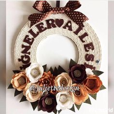 A personal favorite from my Etsy shop https://www.etsy.com/listing/566854201/custom-wreath-fall-personnalized-wreath