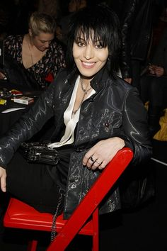 Joan Jett is 54.  She still rocks and is really pretty (and vegan).