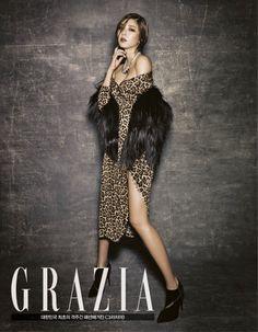Son Dam Bi latest sexy fashion magazine photo for GRAZIA (2)