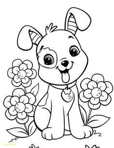Puppy Coloring Pages, Spring Coloring Pages, Easy Coloring Pages, Coloring Sheets For Kids, Coloring Pages For Girls, Flower Coloring Pages, Christmas Coloring Pages, Free Printable Coloring Pages, Coloring Books
