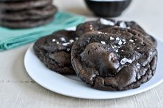 salted mudslide cookies. 2 cups + 2 tablespoons all-purpose flour
