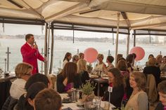 Auctioneer Will Hampson at the Aqua Dinning Series 2014 Cancer Council breakfasts. We had some fun and raised much needed funds. #Fighting #Cancer #Research #Cure #Save #Lives #Giving