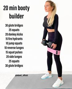 20 min Booty Builder
