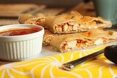 Buffalo Chicken Calzones via Blog is the New Black