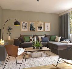 Home Decor Colors, Bedroom Colors, Home Decor Styles, Home Decor Items, Feng Shui House, Feng Shui Bedroom, Burnt Orange Living Room, Asian Decor, Decor Interior Design