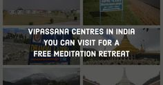 Looking for a silent meditation retreat in India? Check out this list of Vipassana centres in India for spiritual bliss! Meditation Retreat, Spirituality, Peace, India, Goa India, Spiritual, Sobriety, Indie, World