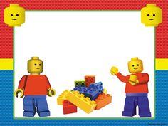 Fiesta de Lego: Invitaciones para Imprimir Gratis.