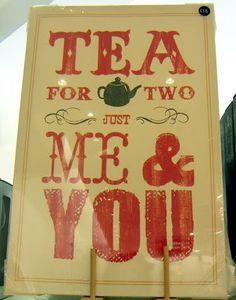 would you like a spot of tea?